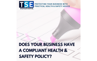 When was the last time you reviewed your Health & Safety Policy?